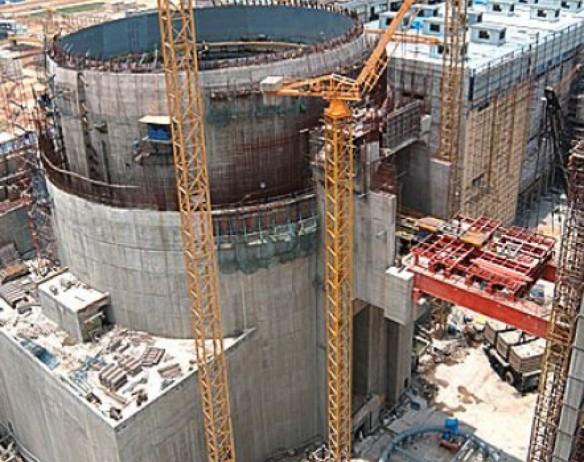 Строительная площадка Балтийской АЭС